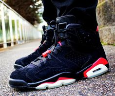 Air Jordan 6 Infrared - Andrew