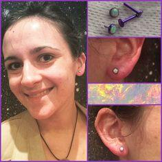 Des premiers piercings souhaités depuis longtemps avec des bijoux @neometaljewelry anodisés et posés par @eugeniadelphine. Chaque piercing est un moment important et c'est un plaisir que de permettre à de telles envies de se concrétiser puis de voir nos clientes et clients repartir avec le sourire !  #mubodyarts #mustardcity #dijonpiercing #piercingdijon #highquality #piercing #bodyjewelry #bijoux #titane #astmf136 #implantgrade #titanium #neometal #neocult #anodizingisawesome #safepiercing…
