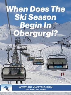 When does the ski season begin in Obergurgl? Get answers to all the basic questions about your Austrian Ski Holiday at our site. European Holidays, Ski Holidays, Austrian Ski Resorts, Ski Austria, Ski Slopes, Ski Season, Top Hotels, Winter Sports, Skiing