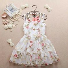 Cute little flower dress