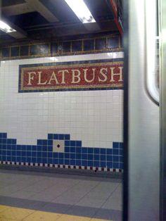 Flatbush station
