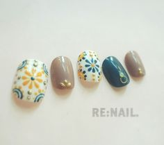 Opting for bright colours or intricate nail art isn't a must anymore. This year, nude nail designs are becoming a trend. Here are some nude nail designs. Trendy Nail Art, Stylish Nails, Feet Nails, My Nails, Asian Nails, Nail Design Spring, Gel Nagel Design, Toe Nail Art, Nail Nail