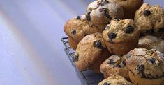 Blueberry-Maple Muffins Egg Whisk, Muffin Cups, Blue Berry Muffins, Quick Bread, Vegan Baking, Muffin Recipes, Eating Well, Healthy Eats, Blueberry