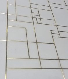 LCDA | Concrete Tiles with Brass Inlay