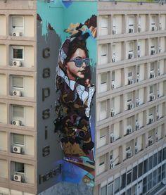Apset and street art Greece Stencil Graffiti, Graffiti Artwork, Street Art Graffiti, Street Installation, Sexy Cartoons, Thessaloniki, Make Art, Urban Art, Traditional Art