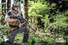 Private Military Contractor outfitted with the latest and greatest kit