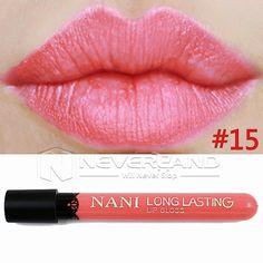 Hot Sale Waterproof Elegant Daily Color Lipstick matte smooth lip stick lipgloss Long Lasting Sweet girl Lip Makeup C10