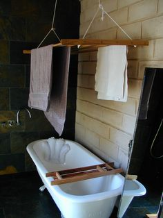 great way to dry stuff in a yurt but what about the shower