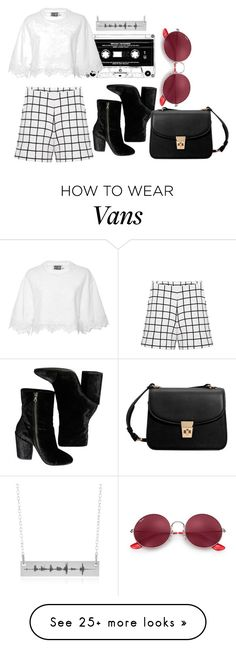 """Untitled #240"" by faaliyah49 on Polyvore featuring Dries Van Noten, MANGO and Ray-Ban"