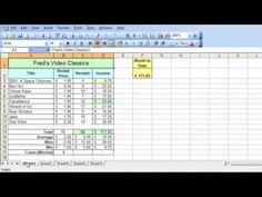 Microsoft Excel Tutorial for Beginners #31 - Worksheets Pt.1 - Multiple Worksheets - YouTube