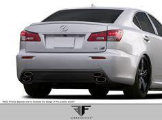 2008-2014 Lexus IS-F AF-1 Rear Diffuser ( GFK ) - 1 Piece
