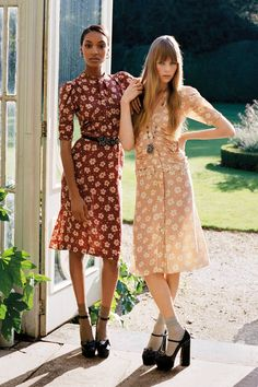 """Hallie M, one of our buyers says: """"These two examples of dresses can be spring /summer party looks and casual as well. Flowy, easy looks, Romantic and very femmine.Party example"""""""