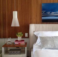Quarto por Patricia Fiuza Arquitetura  #bedroom #homedecor #decoração #decoração #apartamentodecorado #painelripado