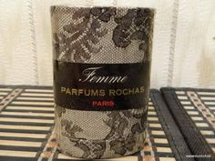 Femme Rochas 7.3ml. Perfume Vintage by MyScent on Etsy