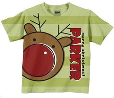 Christmas Shirt Personalized Childrens by SimplySublimeBaby, $24.95