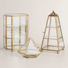 Glass Curio Box Collection | World Market