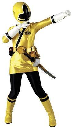 Power Ranger ! Power Rangers Samurai, Go Go Power Rangers, Deadpool, Cosplay, Shiba, Superhero, Yellow, Ladybug, Holidays