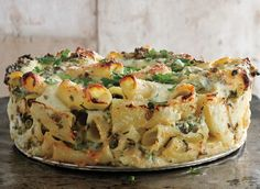 Paccheri and Cheese with Peas and Mint Photo - Baked Pasta Recipes Recipe | Epicurious.com