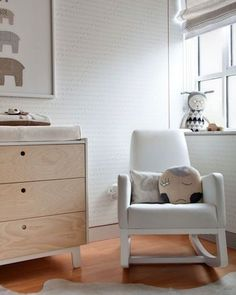 Adorable White Nursery Is a Lovely Haven for Baby