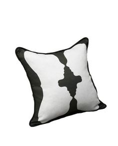 Reflection Pillow - x made from Belgian Linen and Cotton Down Feather Insert Warm Color Schemes, Warm Colors, White Now, Black N White, Black And White Pillows, Down Feather, Head And Neck, Color Of The Year, Backrest Pillow