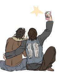 Rickyl fanart Norman selfie