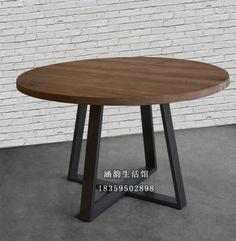 Han-Yun-americana-americano-comedor-mesa-redonda-grande-mesas-redondas-madera-de-hierro-forjado-mesa-de.jpg (570×584)