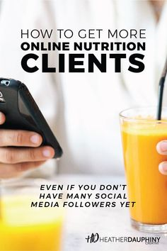 Attracting nutrition clients to your online health and wellness business can feel overwhelming, but it doesn't have to be. Facebook Bio, Facebook Business, Business Pages, Small Business Marketing, Instagram Bio, Social Media Content, Herbalife, Health And Wellness, Improve Yourself