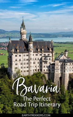 10 Day Bavaria Itinerary: Neuschwanstein Castle, Munich, Zugspitze, and more. #bavaria #itinerary #neuschwanstein #germany