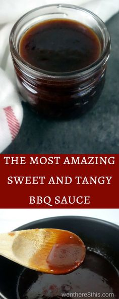This smoky sweet and tangy barbecue sauce recipe is super simple to make, with only 7 ingredients and a cook time of 5 minutes. You'll never use another sauce!    homemade BBQ sauce | best BBQ sauce | barbecue sauce recipe | sweet BB sauce | tangy BBQ sauce | easy barbecue sauce | how to make barbecue sauce | brown sugar BBQ sauce | southern BBQ sauce | BBQ sauce for ribs | BBQ sauce for chicken via @Went Here 8 This