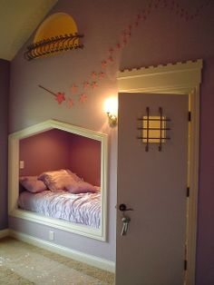 Reminds me of Tangled. Love it, though people might get the wrong idea with the bars on the door... #akward