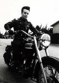 danny dean - triumph rockabilly leather pompadour