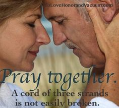Beautiful post about the benefits of praying together as a couple!