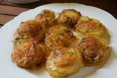 Easy Cooking, Cooking Recipes, Healthy Recipes, Greek Dishes, Veggie Dishes, Greek Recipes, Finger Foods, Baked Potato, Good Food