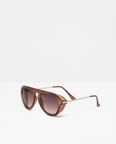 f634b28cefa ОЧКИ В ПЛАСТМАССОВОЙ ОПРАВЕ В СТИЛЕ РЕТРО Stylish Sunglasses