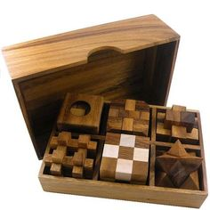 Wooden Puzzle Gift Set