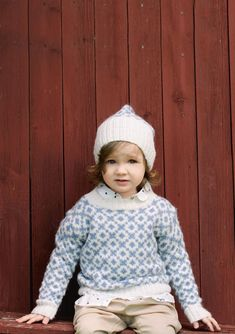 Click to enlarge Girls Sweaters, Baby Sweaters, Cardigans, Knitting For Kids, Baby Knitting, Diy Knitting Projects, Sweater Scarf, Christening Gowns, Ikon