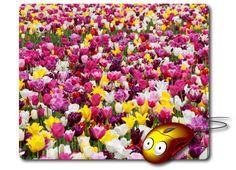 Computer Mouse Pad Mouse Mat Best Mousepad Photo Mouse Pad Nature Image flowers…