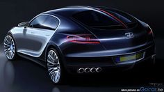 Attirant 2010 Bugatti 16 C Galibier Concept Imagen