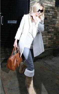 Kate Moss Winter Fashion