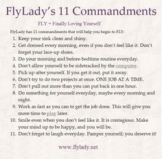 www.Flylady.net  Great motivation to clean!