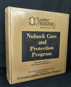Leather Master by Dr. TORK Type N Nubuck Leather Care & Protection Program Kit  #LeatherMaster