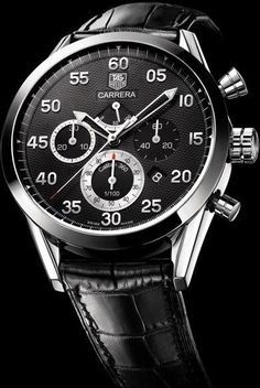 TAG Heuer Carrera Calibre 360 2006. Leather straps are coming back into fashion, you can count on it.