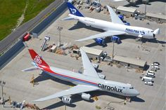 Cargolux and Panalpina Boeing 747-8 freighters
