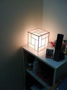 DIY Handmade Japanese Shoji Lamp DIY Home DIY Crafts