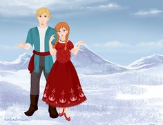 """(Imagine the backround like a garden in spring) Anna and Kristoff were walking in the castle's garden. ,,My belly is so big. I feel like a whale."""" said Anna. ,,No you are not that big!"""" said Kristoff and kissed his wife's cheeks. ,,Kristoff you are self-conscious."""" said Anna and smirked. ,,Well maybe, but does it count what others say? I think you are beautiful like this too. Since you are pregnant you smile more, and everybody knows you are rarerly sad."""" said Kristoff and twined Anna on…"""