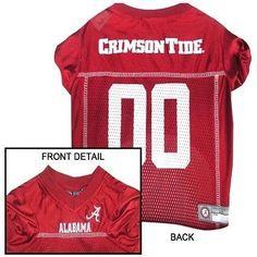 Alabama Crimson Tide NCAA Dog Jersey
