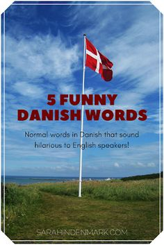 A list of 5 Danish words that sound funny in English.