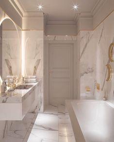 Bathroom Design Luxury, Modern Bathroom Design, Washroom Design, Home Room Design, Dream Home Design, Bathroom Design Inspiration, Design Ideas, Dream House Interior, Dream Bathrooms