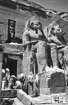 Abu Simbel 1960 Egypt