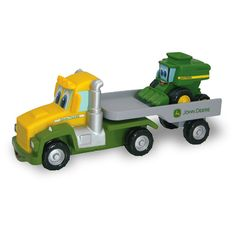 Johnny Tractor Semi Set With Corey Combine